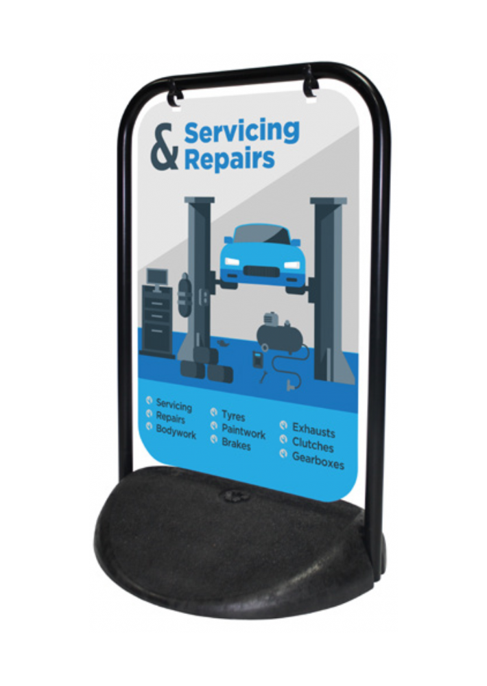 Swinger 2 (Panel Option) Pavement Sign